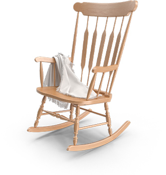 תמונה של כיסא עץ מעוצב רז רהיטים מעוצבים