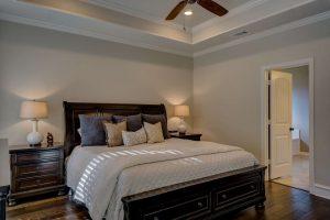 תמונה של חדר שינה מעוצב